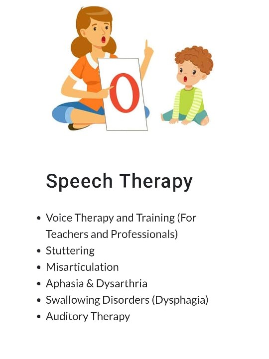 Speech therapy center